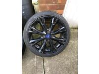 Ford Fiesta alloy wheel