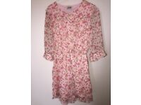 Pretty floral playsuit by Fable, London. Approx S/M