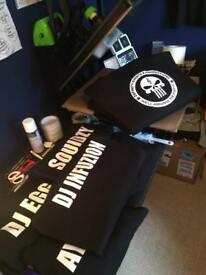 T-Shirt / Hoody Printing - Garment Printing & Custom Clothing Services. Promotional Workwear