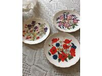 3 ROYAL ALBERT LIMITED EDITION PLATES