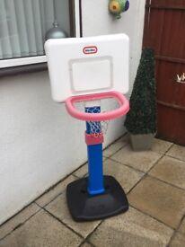 Little tykes basket ball hoop