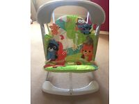 Fisher Price Woodland Friends Take-Along Swing & Seat