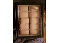Watch box 10 spaces