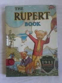 Rupert Bear 1941 Facsimile Edition Annual - Sealed