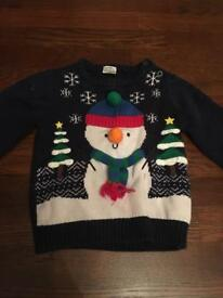 9-12 months boys Christmas novelty clothes bundle