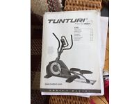 Cross Trainer - Tunturi C45. Professional gym standard. As new