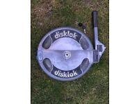 Thatcham Disklok Antitheft Lock