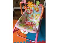 FisherPrice infant to toddler rocker