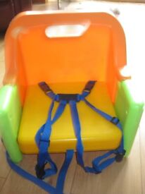 TODDLER / SMALL CHILD DINING BOOSTER SEAT for sitting at the table - suit boy or girl