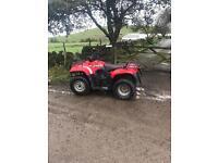 Suzuki 400cc farm quad
