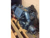 Diesel boat engine and accessories