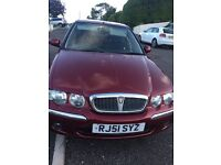 Rover 45 for sale** beautiful car**low milege**
