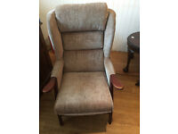 Modern armchair , good condition . comfortable chair collection only Feel free to view.