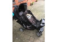 Double buggy in good condition from a smoke free and pet free home.