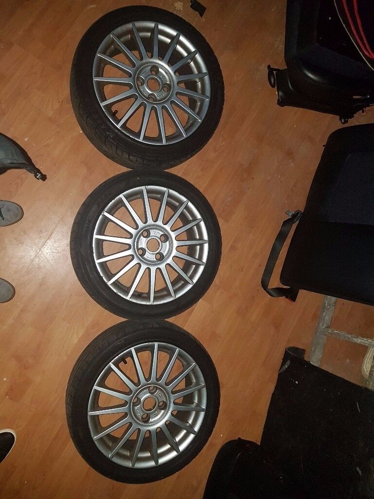 """Ford Focus ST170 Alloy Wheels - 17"""""""
