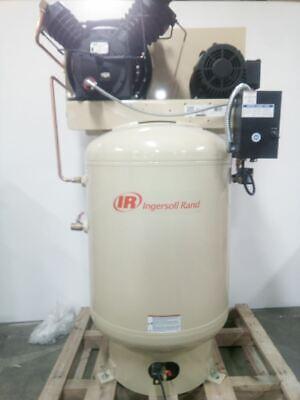 Ingersoll Rand 2545k10fp-230-460-3 10.0 Hp 240vac480vac 120 Gal Air Compressor