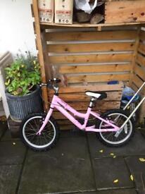 """Ridgeback Melody Girls bike, pink 16"""""""