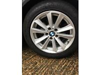 Bmw 520 F11 (2012) genuine alloys with tyres