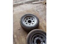 Ford transit weller steel wheels