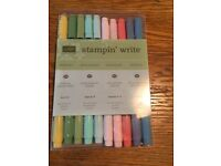 Stamping' up! Stampin'Write markers for sale