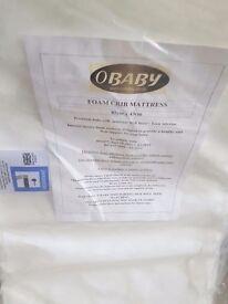 Obaby foam crib mattress *NEW*