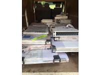 Job lot of radiators