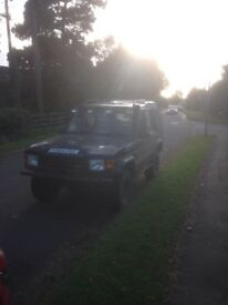 Land rover discovery TDI 4x4 Modified