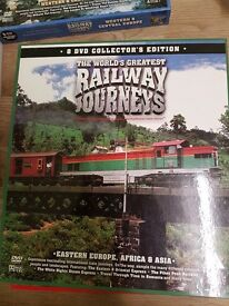3 x Box sets of Worldwide Railway Dvds
