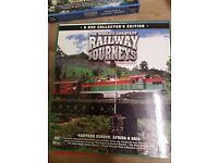 3 x Box sets of Worldwide Railway Dvds