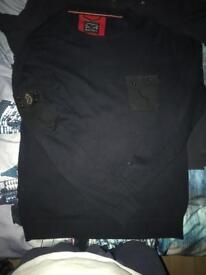 Luke jumper/Luke smart casual shirt