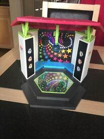 Playmobil Hotel Disco Stage with music and lights