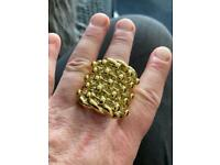 Fantastic Heavy GP 5 Row Keeper Ring size S1/2, 54g, WILLING TO POST
