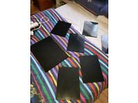Placemats and chopping board