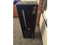 LG SH7 Wi-Fi & Bluetooth Sound Bar With Wireless Subwoofer and Adaptive Sound Control, Silver