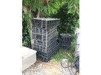 6 Soakaway crates