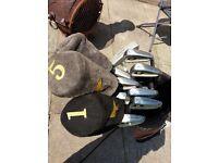 Golden Bear Golf Clubs and Bag