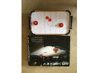 Air hockey table top game