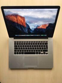 "MacBook Pro 15"" Retina mid 2015 & AppleCare - i7 2.2GHz /16GB RAM/256GB SSD"