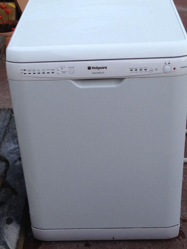 Hotpoint Aquarius FDW60 Dishwasher - excellent used condition