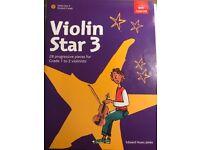 ABRSM Violin Star 3 Music Book and CD