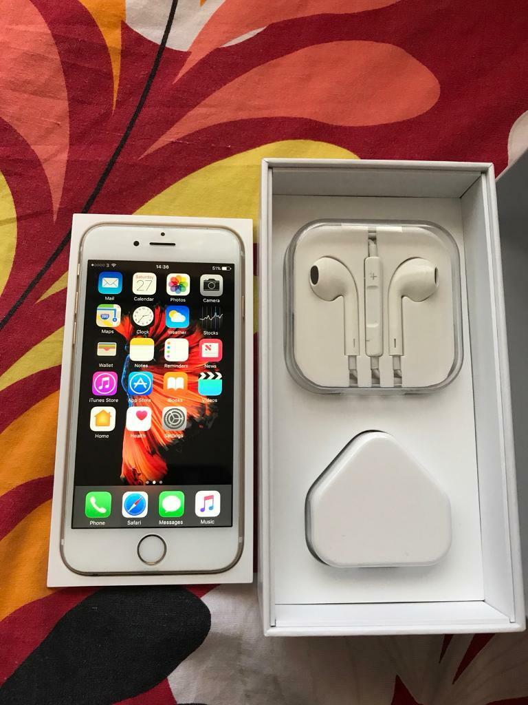 Iphone 6S Plus 64GB White Mint/Like New Condition Unlocked Any Network