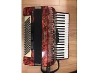 Piano accordion - German 120 bass