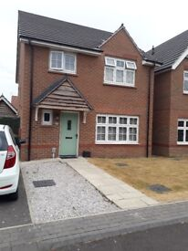 4 bedroom detached house available January