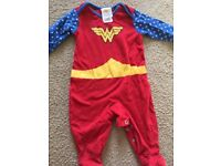 Baby Wonder Woman outfit 6-9 months