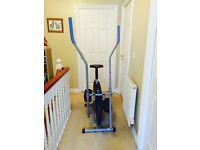 We R Sports 2-in-1 Cross Trainer / Exercise Bike