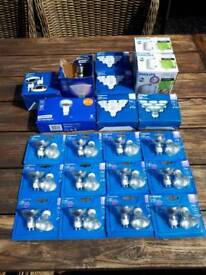 Light bulbs Large Quantity of new packaged bulbs