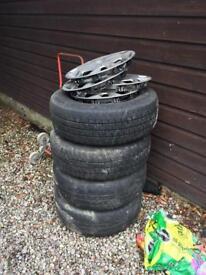 Ford Transit steel wheels x 4