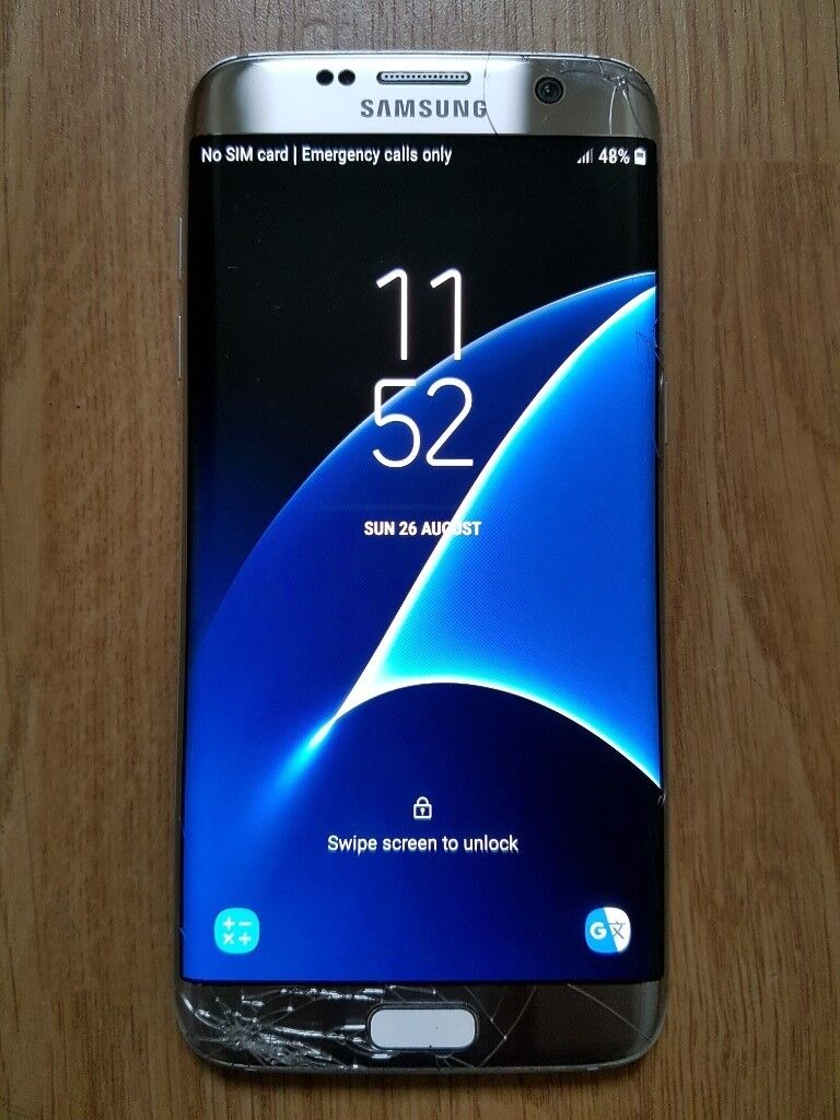 Samsung S7 Edge (cracked screen) | in Bournemouth, Dorset | Gumtree