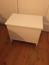 IKEA Storage bench white collection SILVERAN - very good condition