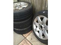 """BMW 4x 16"""" Alloys & Tyres"""